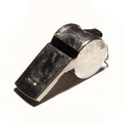 Whistle, photo by Richard Wheeler