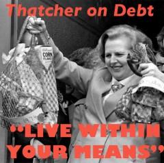 thatcher on debt