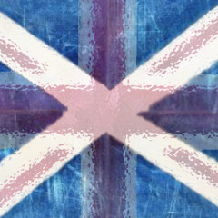union flag melts away from scotland