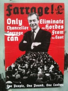 Only Chancellor Farage can eliminate the hordes from the east