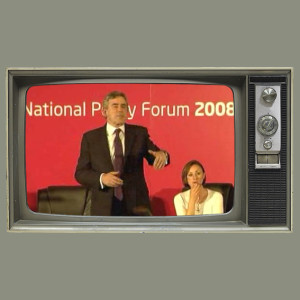 Gordon Brown at the NPF 2008