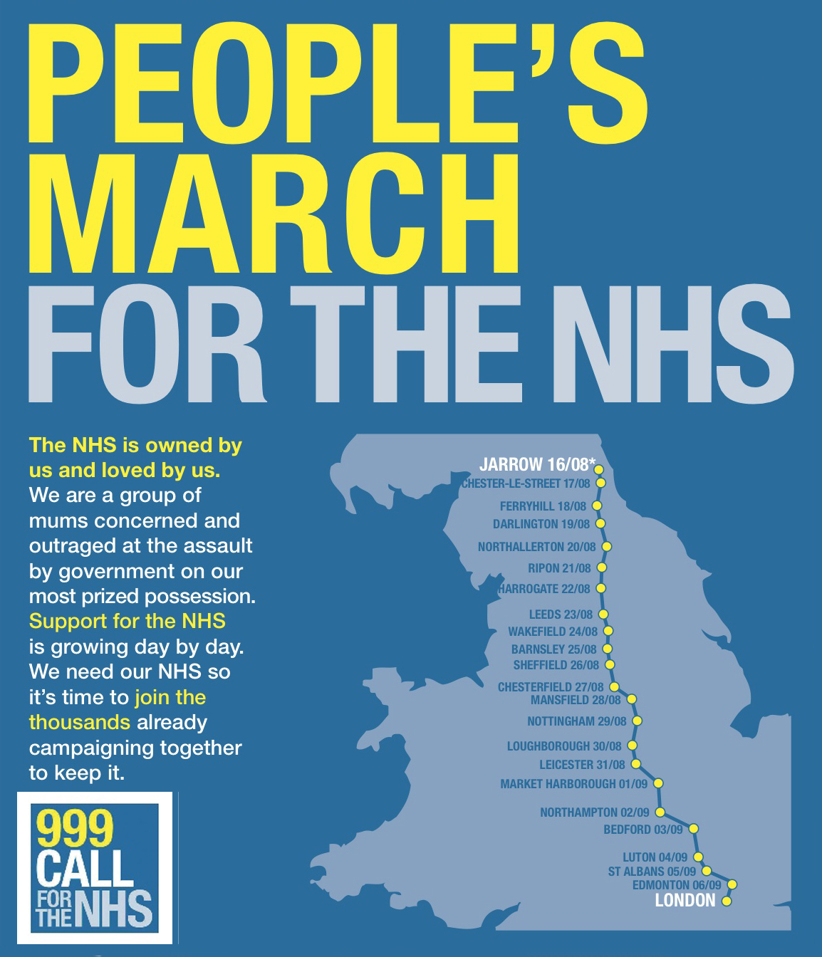 MARCH for NHS