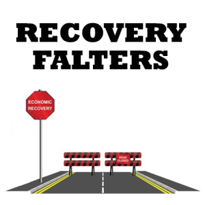 recovery falters