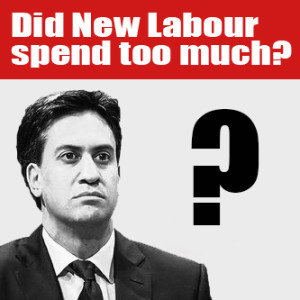 Did New Labour spend too much