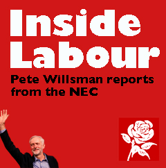 Inside Labour Willsman from NEC
