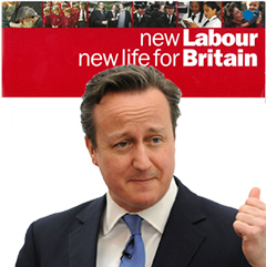New Labour Cameron