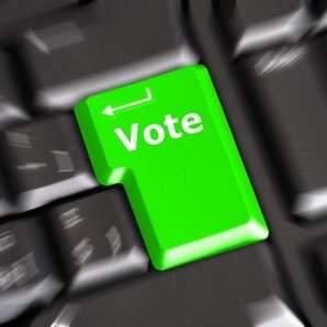 Vote key on keyboard polling
