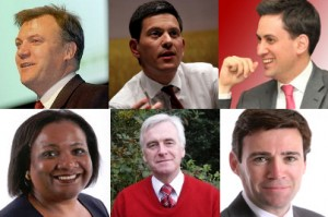 pictures of all 6 potential Labour Leadership candidates