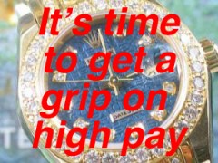 Times up for high pay