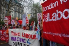 Oxfordshire Young Labour on the March for the Alternative