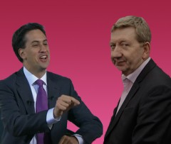 Ed Miliband & Len McCluskey