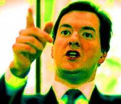 George Osborne greenish hue