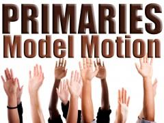 Primaries model motion