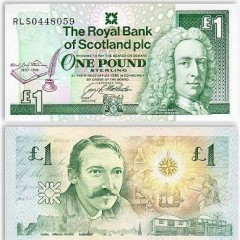Scottish banknote