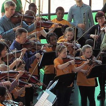 Geordie symphony school orchestra