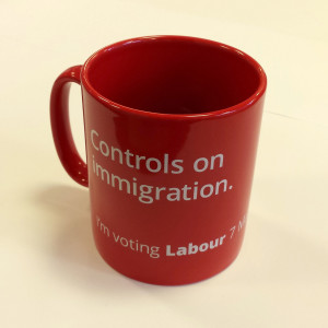 Immigration mug square
