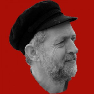 Corbyn on red