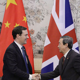 George Osborne in China sq