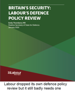 LabourDefenceReview